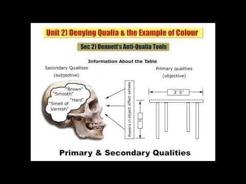 Sec 2 Dennett's Anti Qualia Tools