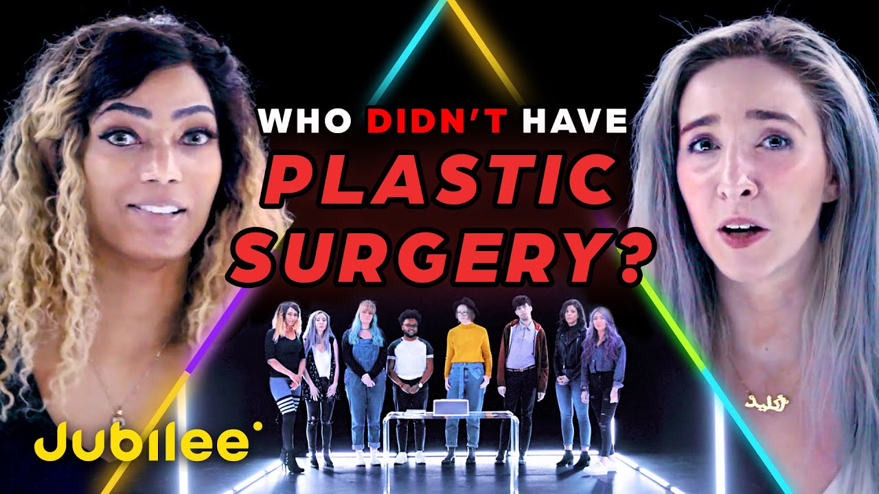 7 People Who Had Plastic Surgery vs 1 Who Has Not | Odd Man Out