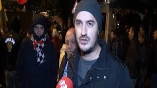 BOŞNAKLAR BEYAZ TV BİNASI ÖNÜNDE RASİM OZAN KÜTAHYALI'YI PROTESTO ETTİ !