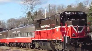 P&W Polar Express & G&U Polar Express Trains! (12/19/15)