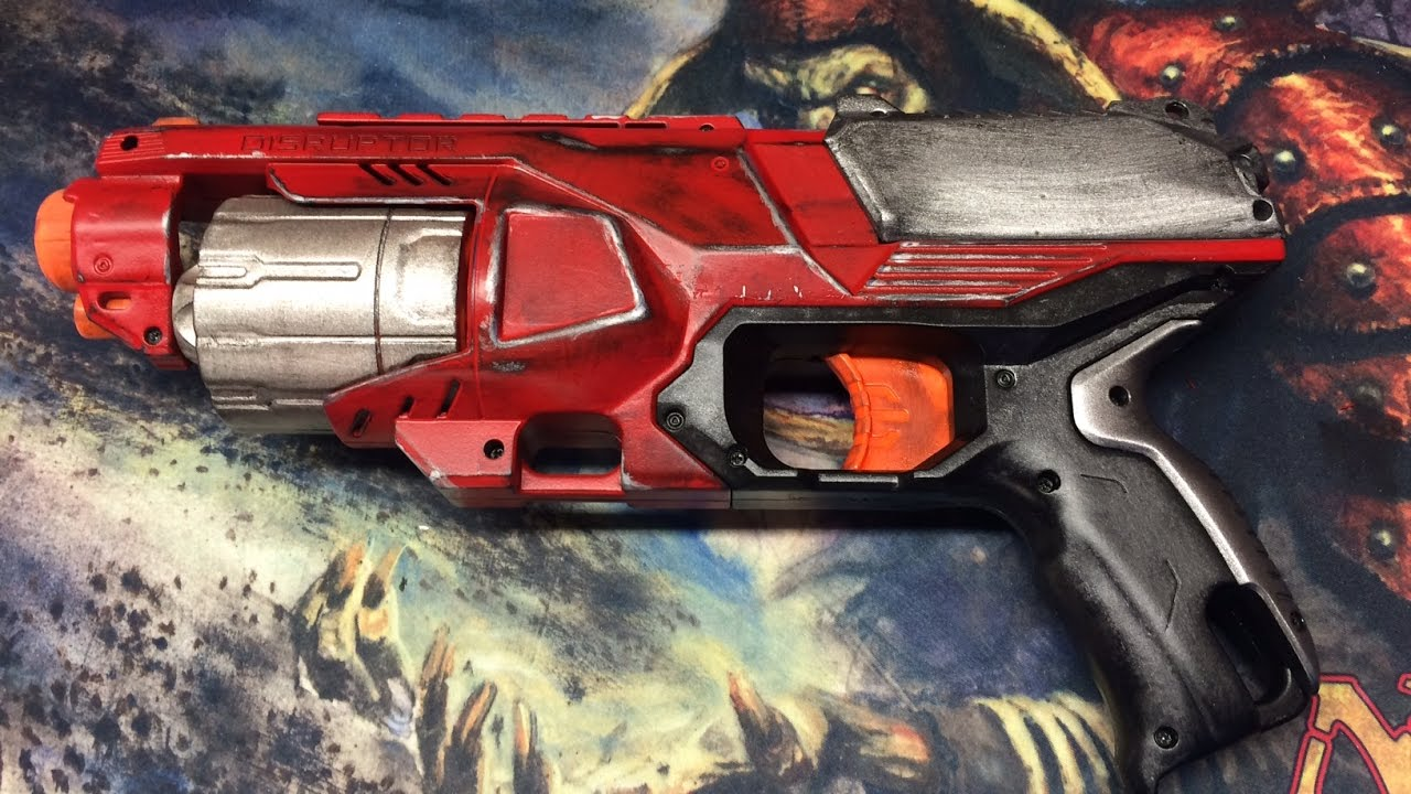 Nerf Disruptor Mod Guide by Rmods74