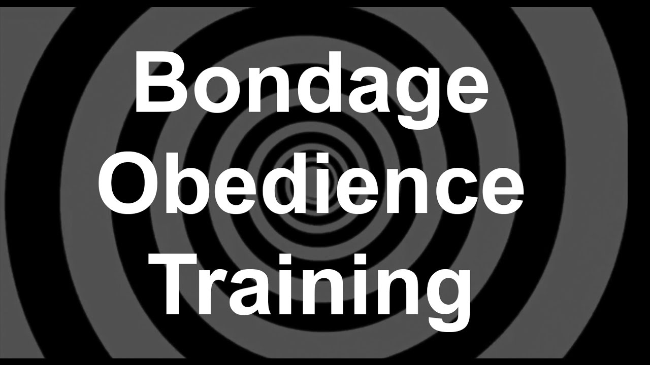 Bondage training and r. bolla | Sex pictures)
