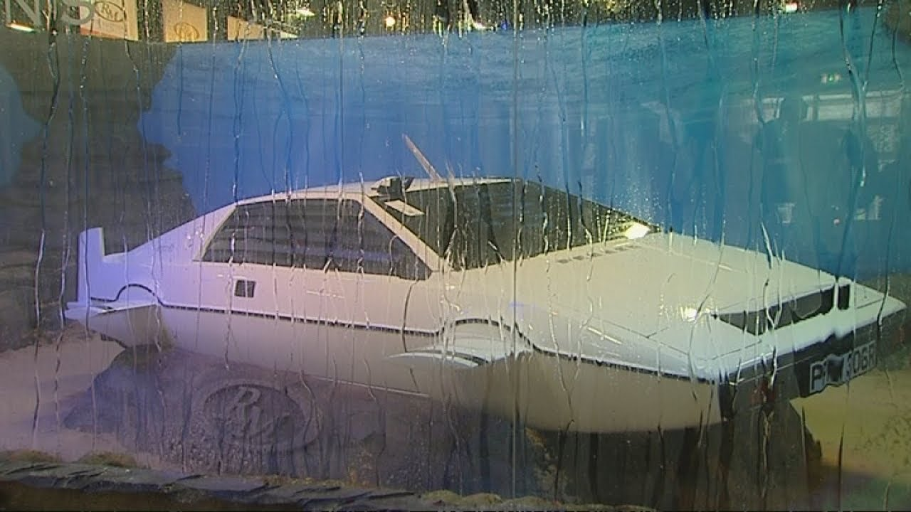 James Bond Submarine Car Up For Auction Lotus Esprit To Go Under The Hammer