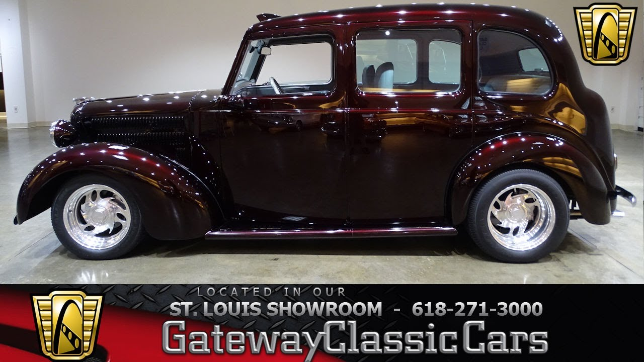 1958 Austin FX3 for sale at Gateway Classic Cars STL - YouTube