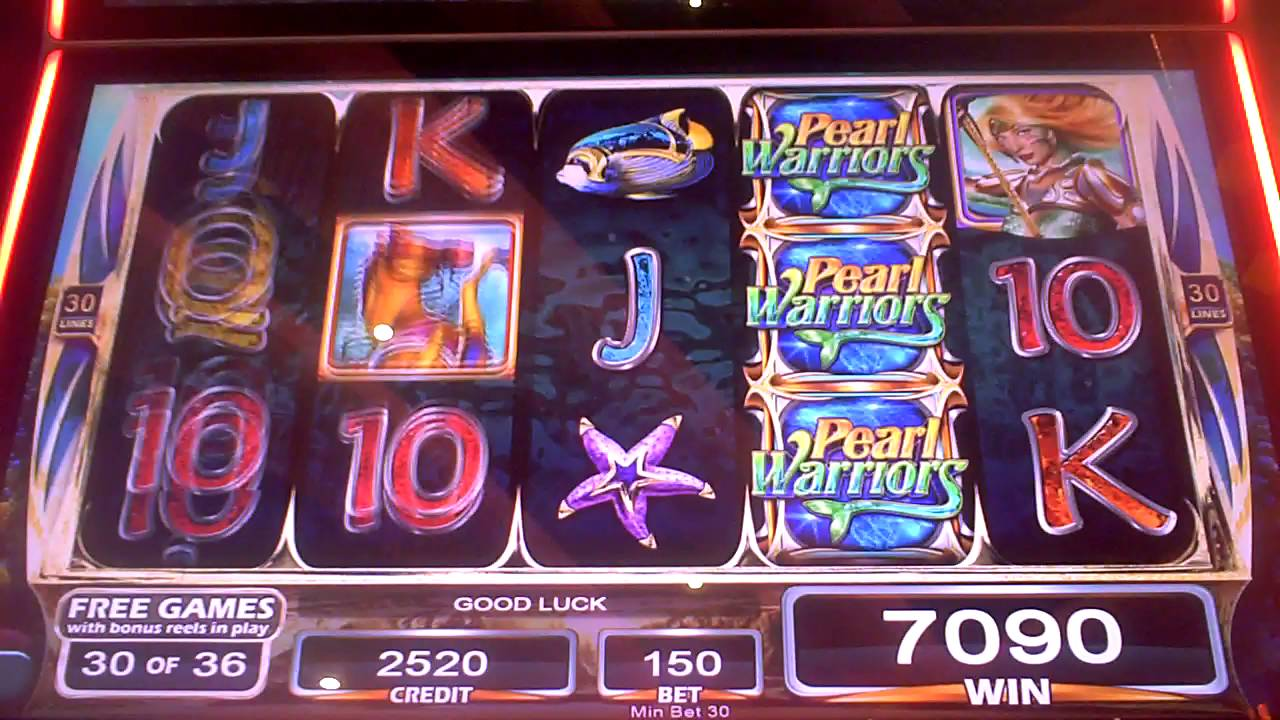 Pearl Warriors Slot Machine
