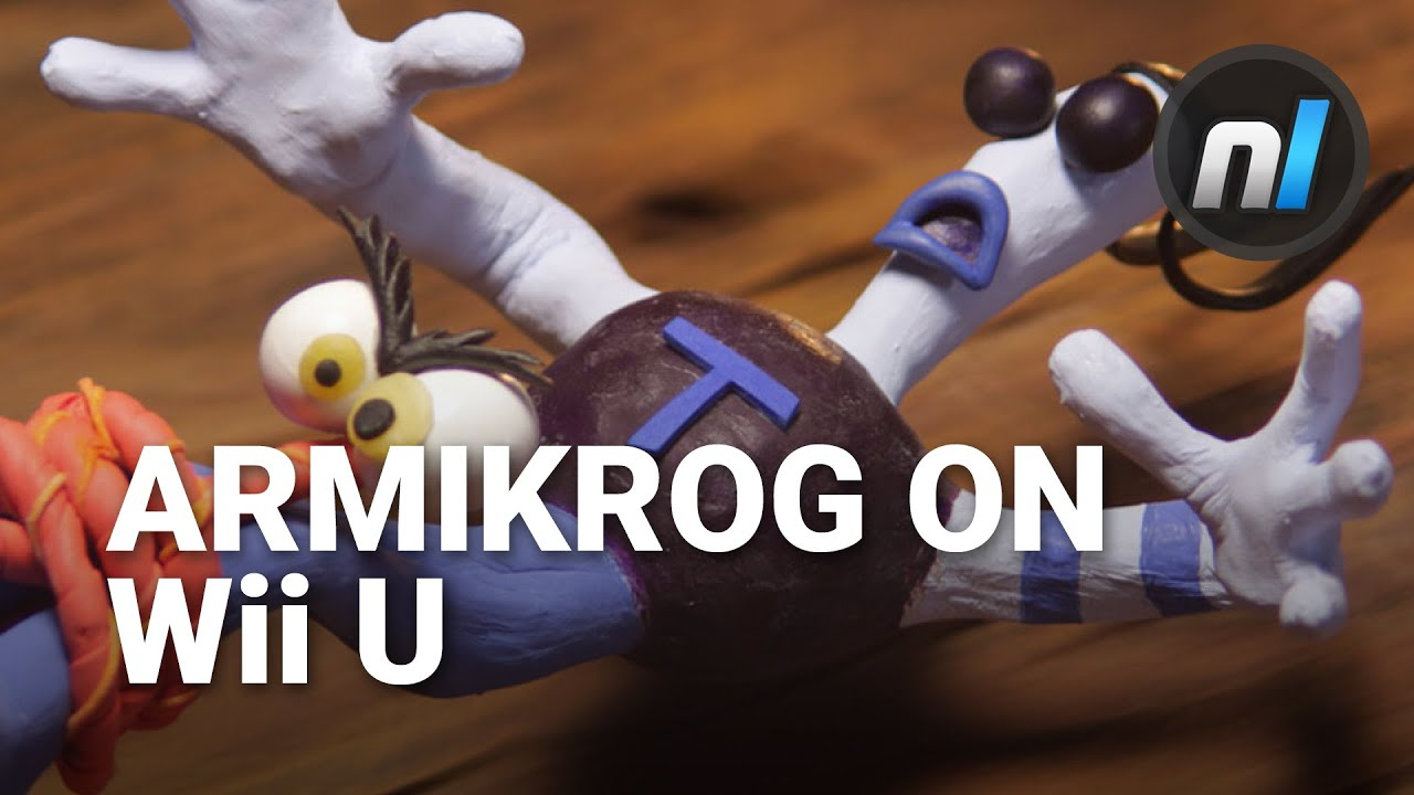 Welcome To The Neverhood Armikrog On Wii U Youtube