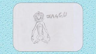 How To Draw Jaggu // Chhota Bheem Cartoon Character // Art And Craft Point