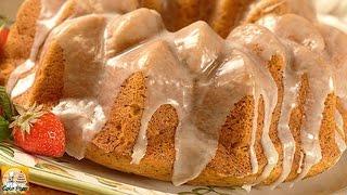 Pumpkin Orange Poppy Seed Cake