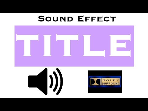 sound-effects-for-title-|-intros-|-complete-|-hi-quality-audio