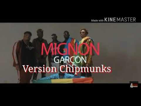 Mignon garcon version chipmunks