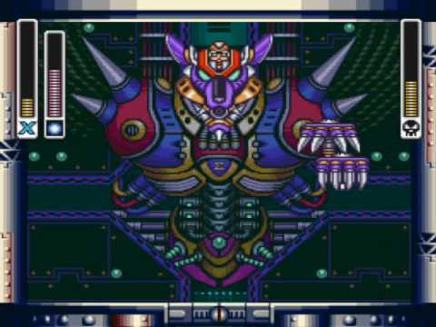 Megaman X - Final Battle (w/Hadouken) + ending part 1