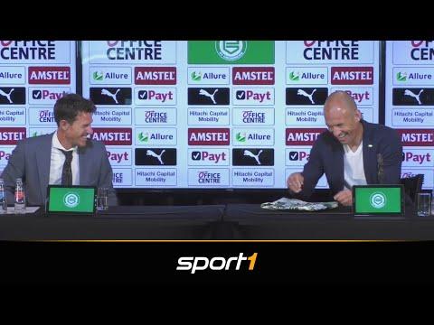 Überraschung! Mit diesem Geschenk verblüfft Groningen Robben | SPORT1