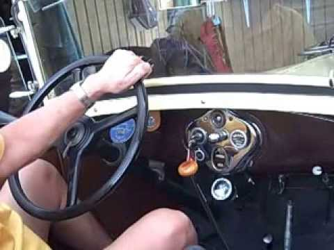 Ford Model A How To Shift The Model A Youtube