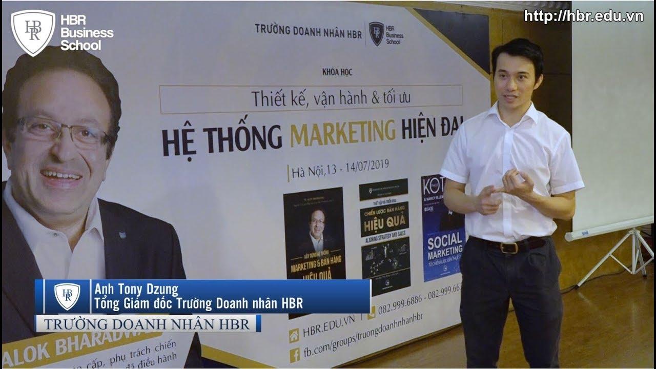 Cảm nhận học viên trường doanh nhân HBR – Anh Tony Dzung chia sẻ về khóa học của TS Alok