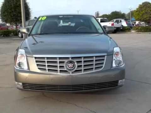 2010 CADILLAC DTS PLATINUM ADAPTIVE CRUISE CERTIFIED! - YouTube