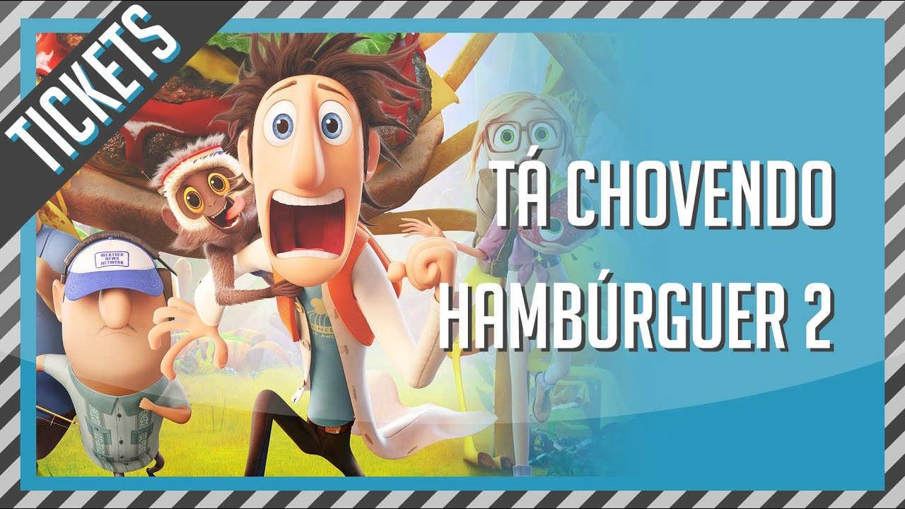 Filme Ta Chovendo Hamburguer Dublado Completo with regard to tá chovendo hambúrguer 2 | crítica de filme - youtube