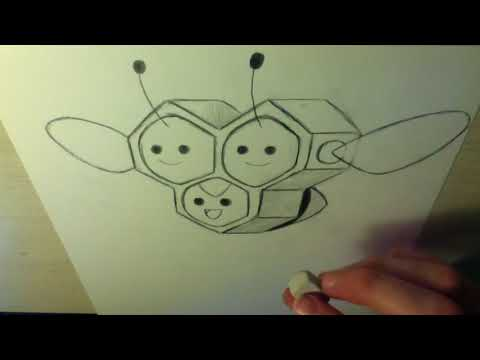 Drawing all the Pokemon: Number 415 Combee