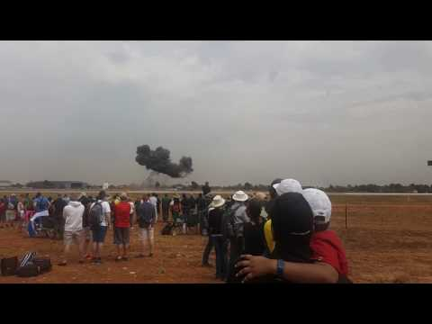 AAD 2016 Airshow Waterkloof - Explosions,Fighter Jets, Helicopters (African Aerospace and Defense)
