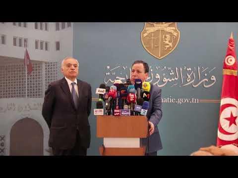 وزير الشؤون الخارجية ورئيس البعثة الأممية يبحثان تطورات الأوضاع في ليبيا