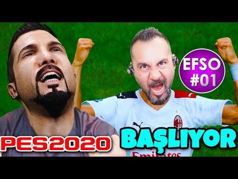 EFSO 2020 EN GÜZEL GOLLERLE BAŞLIYOR! | PES 2020 EFSANE OL #1