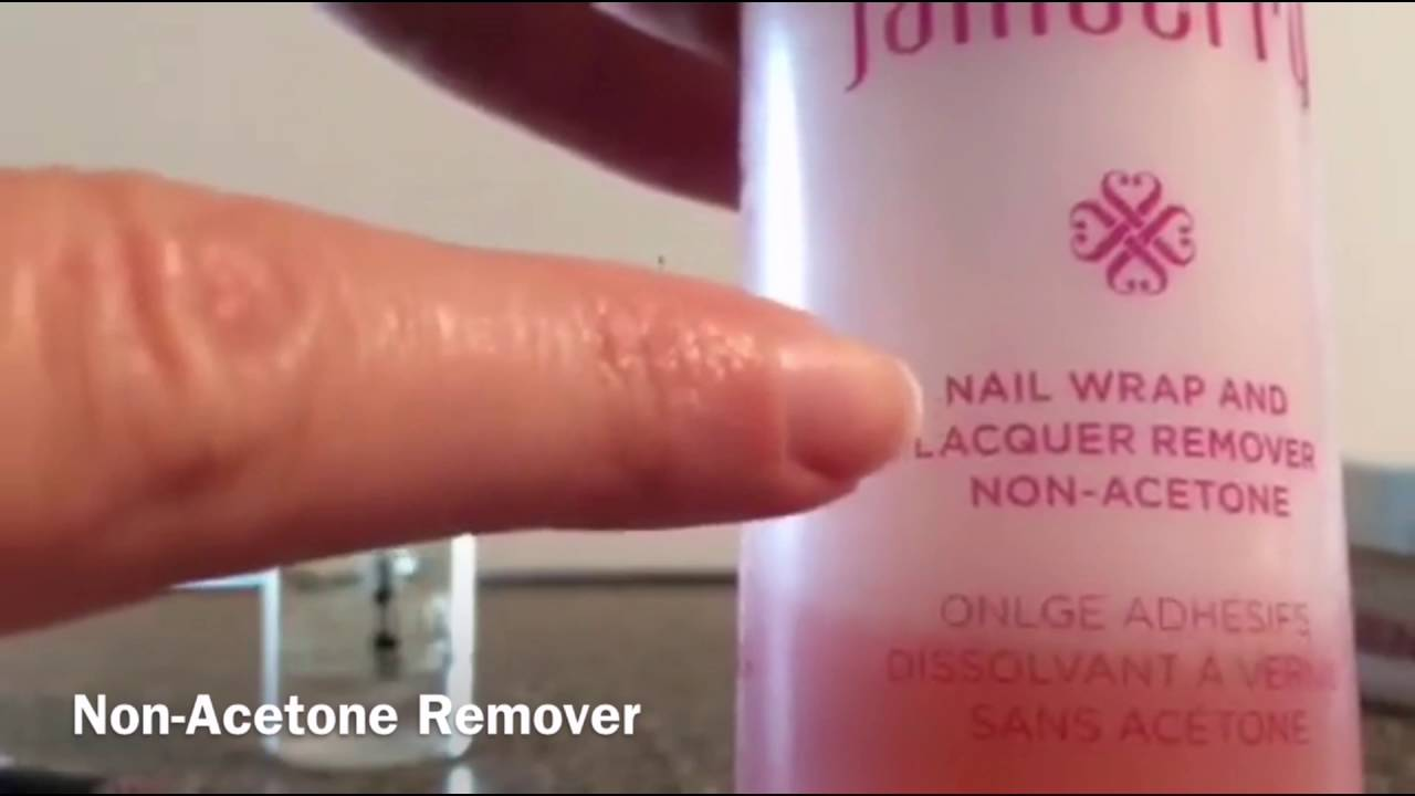 Easy, Fast, and Gentle Jamberry Nail Wrap Removal with Makeup Brush ...