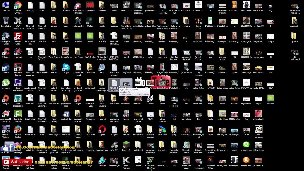 Tutorial - Cum sa faci LIVE pe YouTube - Xsplit Broadcaster