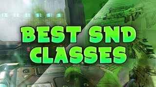 BO3 BEST SnD CLASSES - 2/6/16 - Post M8A7 & Vesper Nerf
