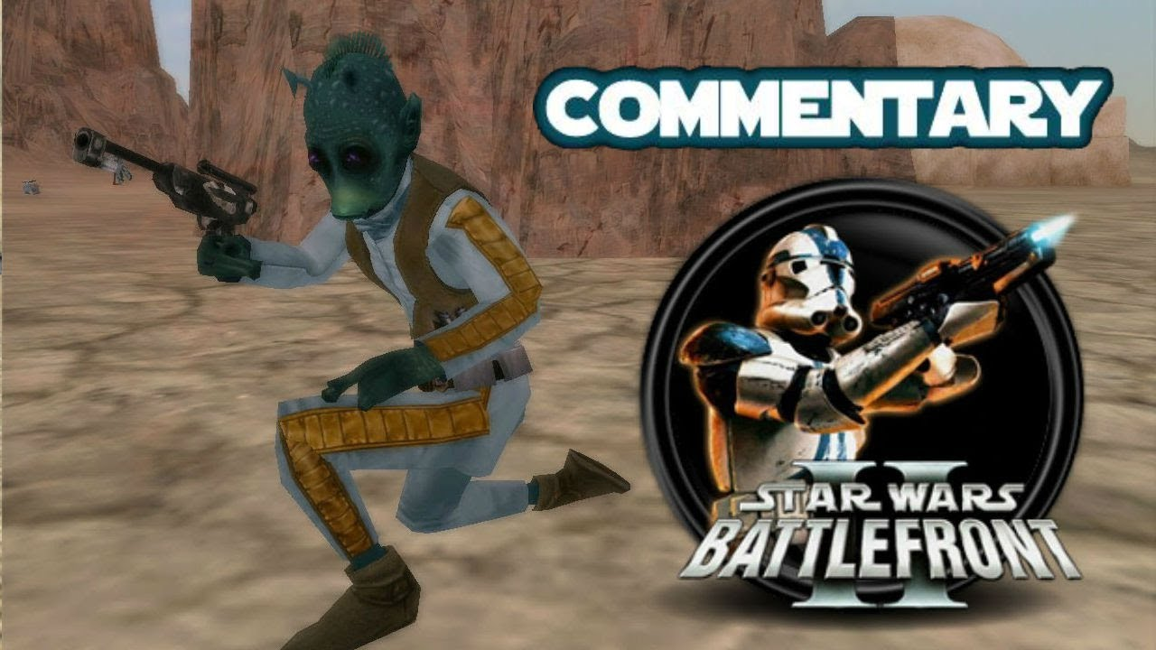 Star Wars Battlefront 2 Mods (PC): Conversion Pack 2.2 Tatooine: Dune Sea