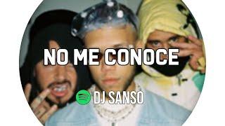 NO ME CONOCE REMIX - Jhay Cortez ✘ J Balvin ✘ Bad Bunny ✘ DJ SANSO [PREVIA REMIX]