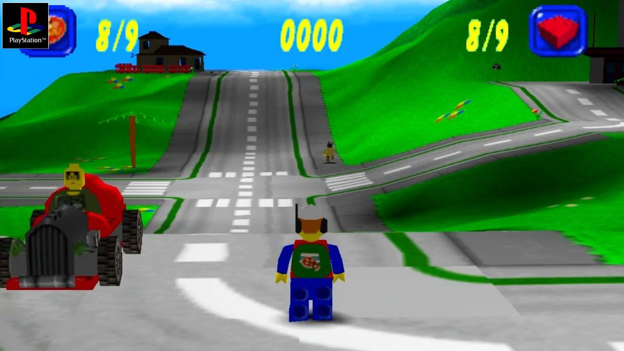 Lego Island 2: The Brickster's Revenge - Gameplay PSX ...