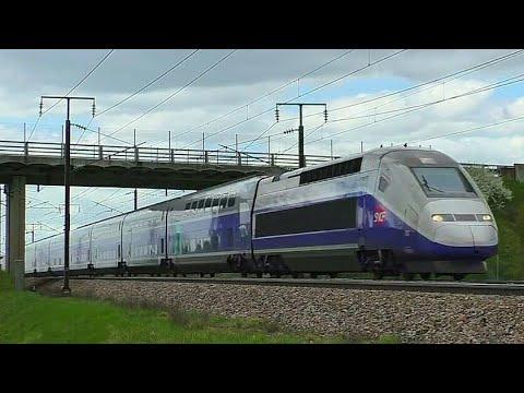 TGV, Lyria et OUIGO sur la LGV Sud-Est