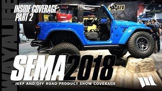 SEMA 2018 Jeep JL Wrangler SHOW COVERAGE - PART 2 / DYNATRAC / AEV / RUGGED RIDGE