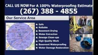 Waterproofing Philadelphia - FREE Estimates | Philadelphia Waterproofing