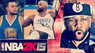 NBA 2K15 Full Game - Raged so Hard My Hat Came Off (NBA 2K15 My Career)