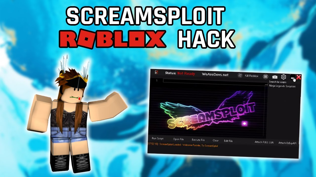 Roblox Exploits 2019 Working Screamsploit Free Roblox Exploit Working 16 Dec 2019 Youtube