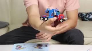 4in1 운송&항공기 로봇 합체 블럭