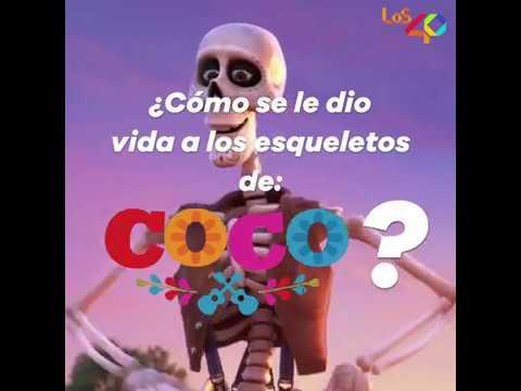 Así Diseñaron Las Calaveras De Coco De Película