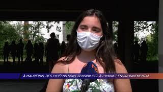 Yvelines | Au Lycée des Sept Mares à Maurepas, les lycéens sensibilisés à l'impact environnemental