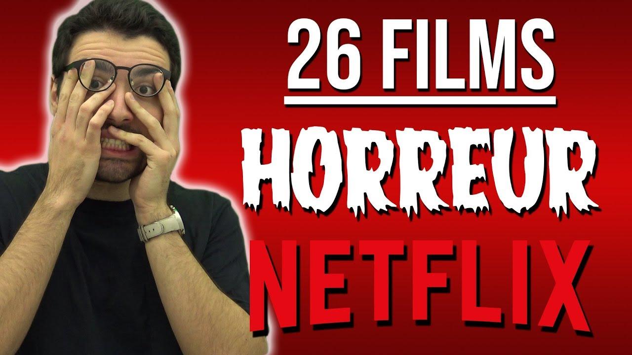 26 FILMS D'HORREUR À VOIR SUR NETFLIX ! - YouTube