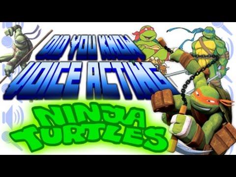Ninja Turtles  Did You Know Voice Acting?