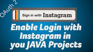 Enable Login with Instagram in your JAVA Projects