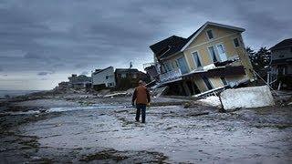 Hurricane Sandy: scenes of devastation on New York's Staten Island