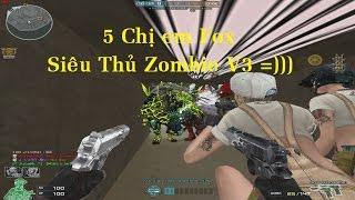Gambar cover Siêu Thủ Zombie V3 - 5 Chị em Fox Thủ Dâm :))) Hài VKL ✔   Pino cùng 4 AE Youtube  