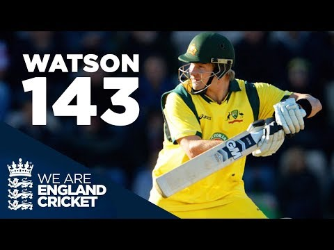 Shane Watson Smashes Sensational 143 | England v Australia 2013 - Highlights