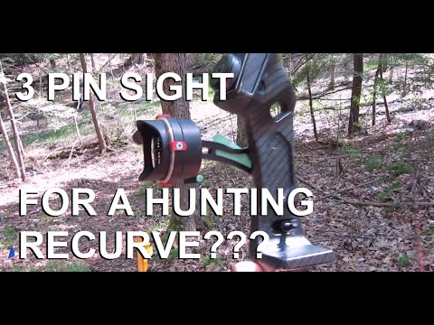 Adding A Sight To A Hunting Recurve Bow