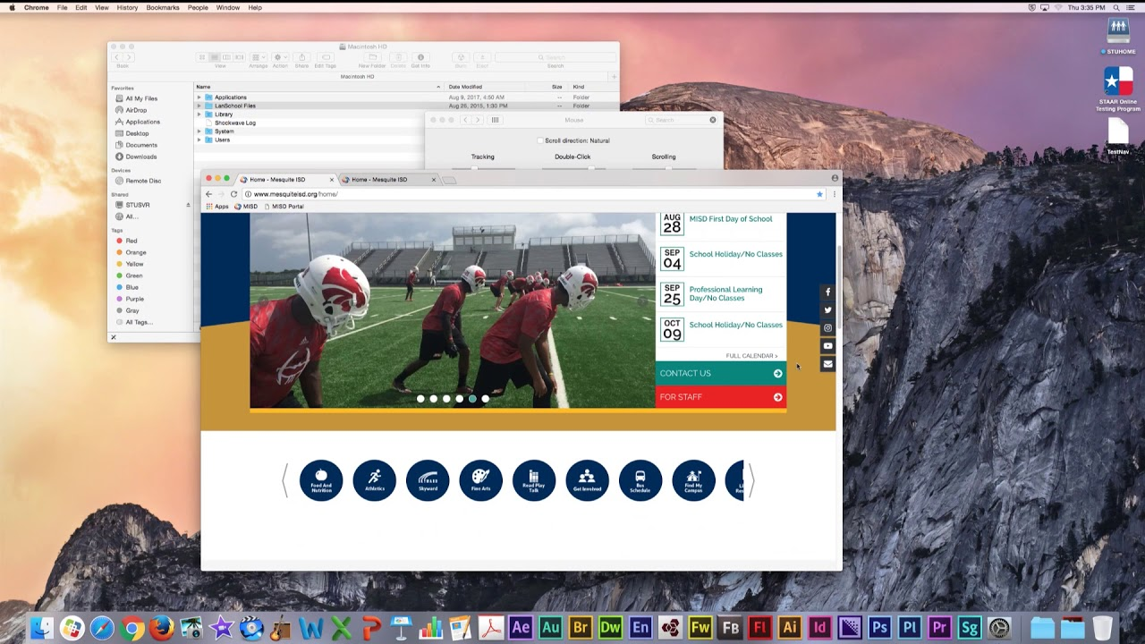 Mac OS: Mouse Settings and Right-click