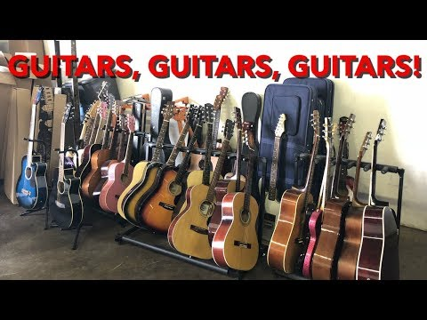 Huge Guitar & Musical Instrument Consignment Haul!