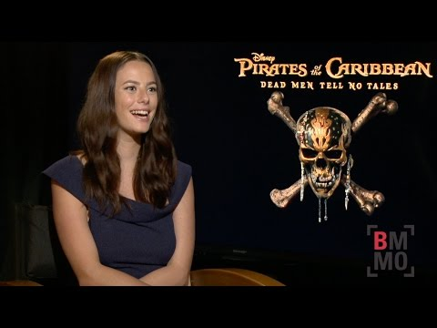 Kaya Scodelario Interview - Pirates of the Caribbean: Dead Men Tell No Tales