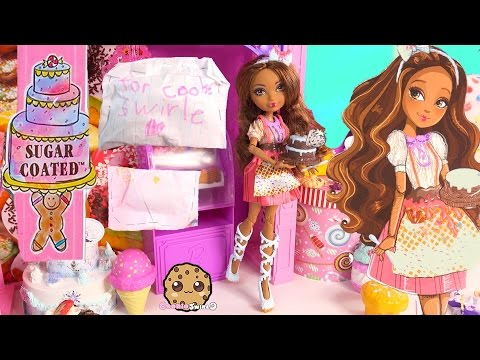 Ever After High Sugar Coated Cedar Wood Pinocchio Daughter Doll + Cookieswirlc Fan Blind Bags