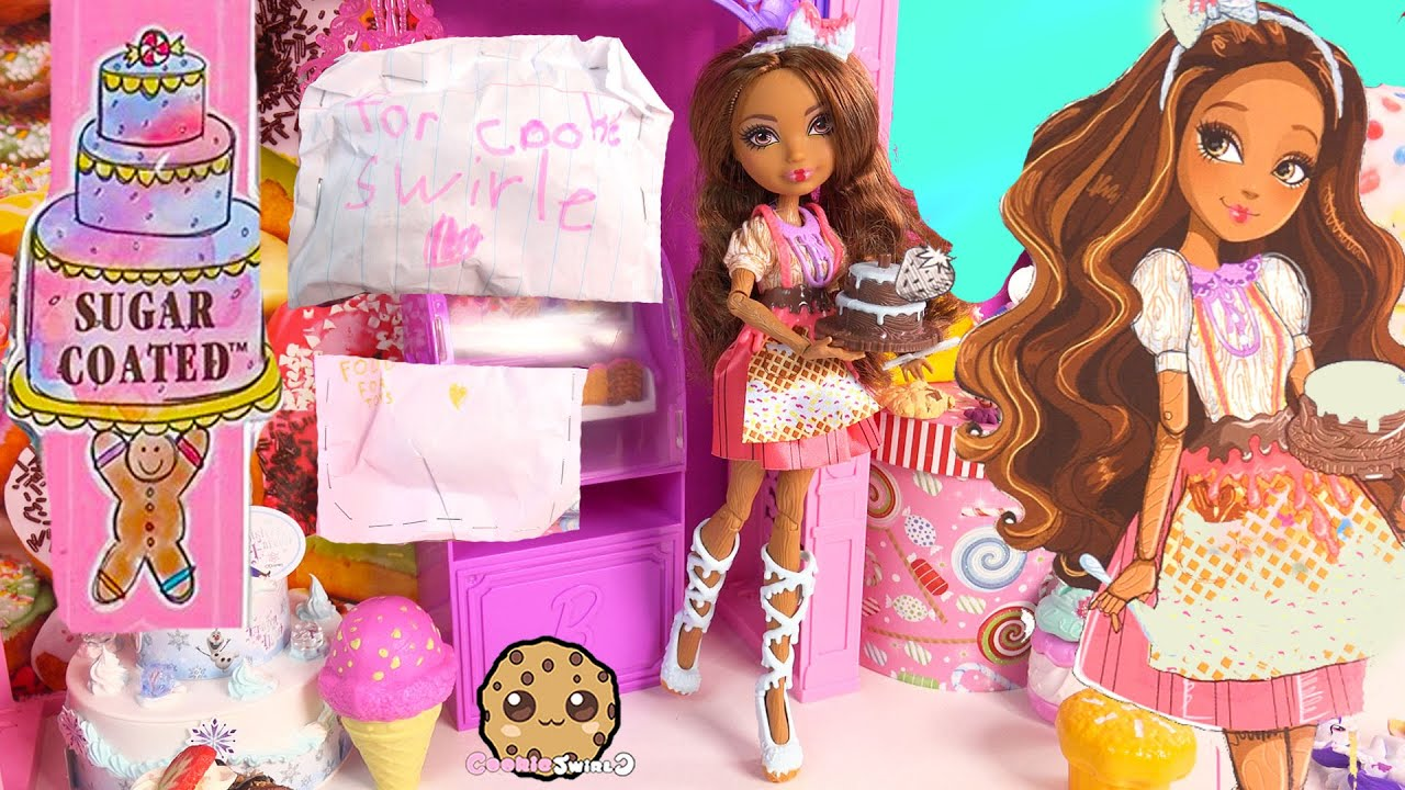 Ever After High Sugar Coated Cedar Wood Pinocchio Daughter Doll Cookieswirlc Fan Blind Bags